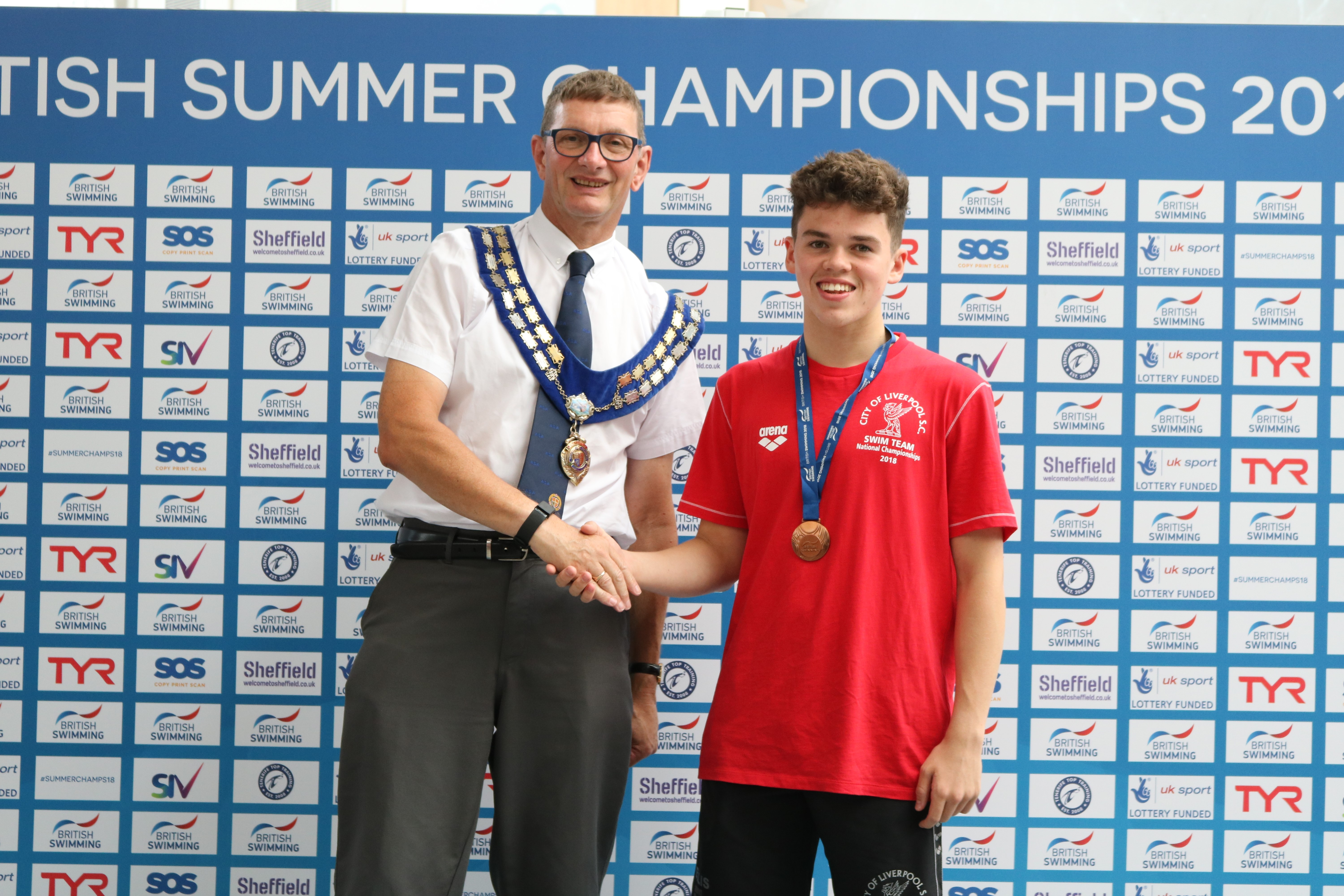 2018 British Championships - 100m Fly 13/14Yrs BRONZE Medal