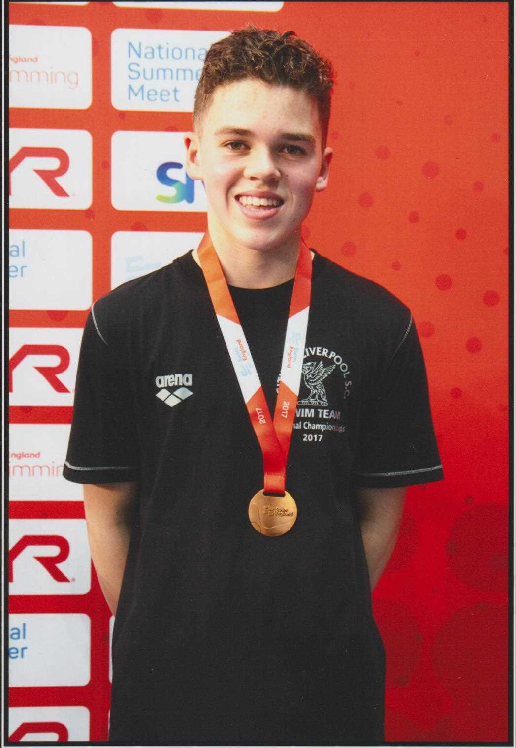 2017 National Summer Meet - 100m Fly 13/14Yrs Bronze Medal